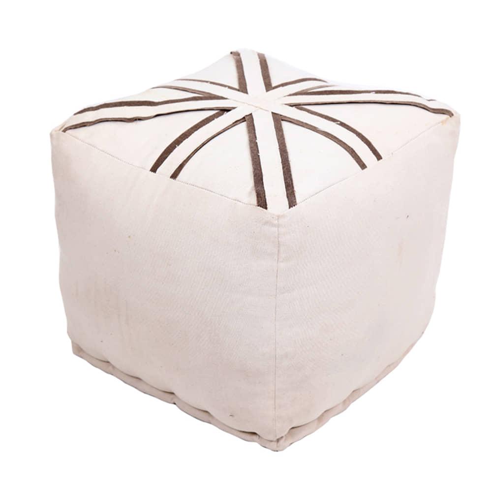 Puffs y bancos secci n de muebles para sal n borgia conti - Puff para salon ...