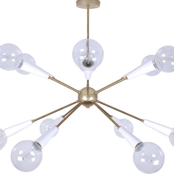 Lámpara Sputnik white