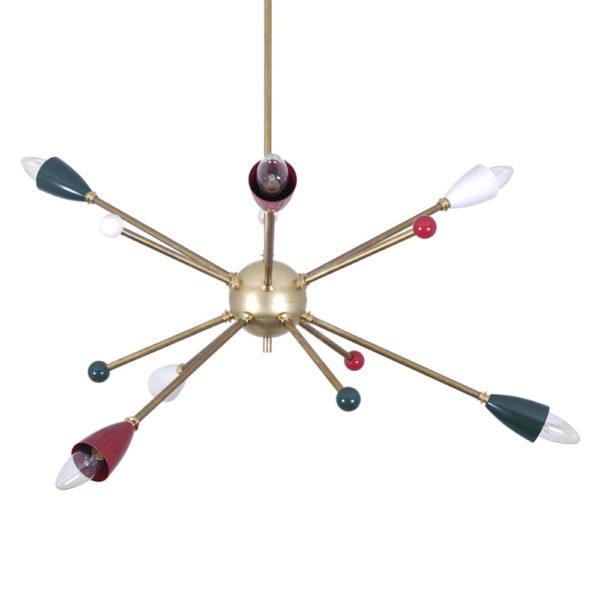 Lámpara Sputnik Colours