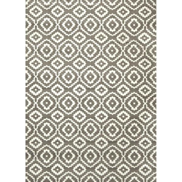 Alfombra Geometrics gris
