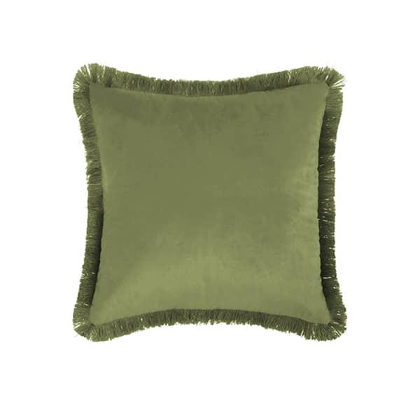 Cojín Flecos Verde