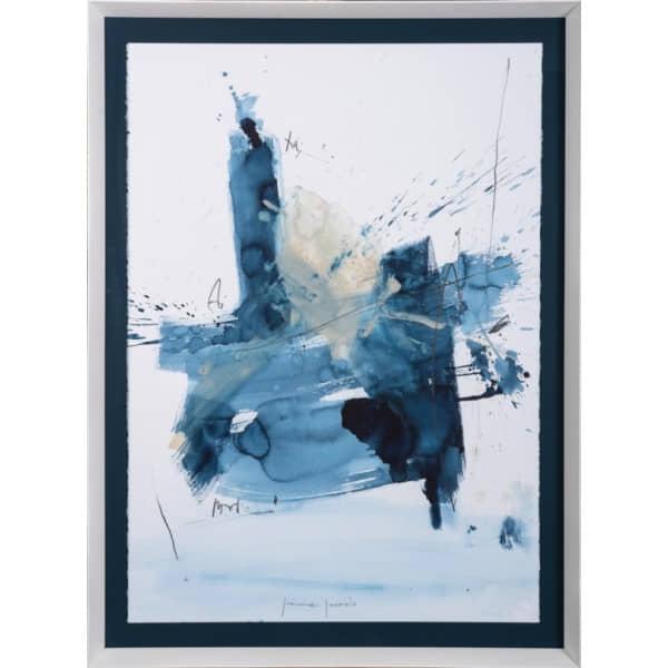 Cuadro Blue Abstract I