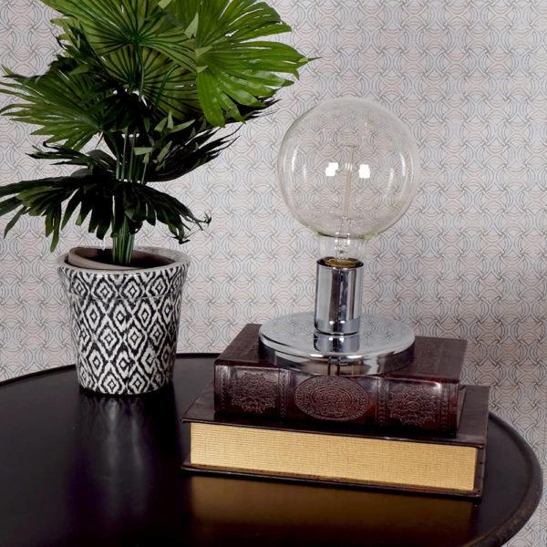 Lámpara mesa Edison